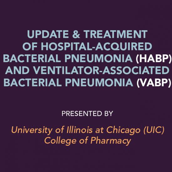 Update & Treatment of HABP-VABP Symposium